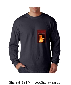 pigment dyed long sleeve t-shirt Design Zoom
